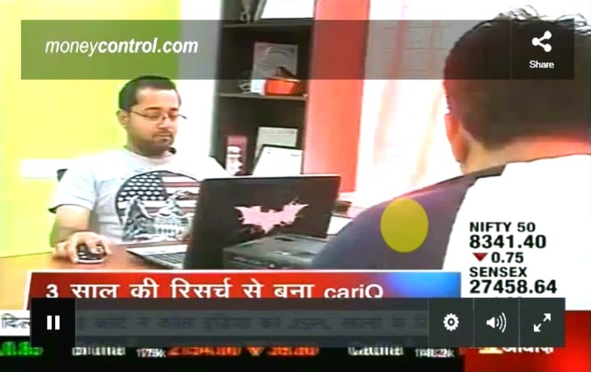 Deepak Thomas, CarIQ on CNBC Awaaz